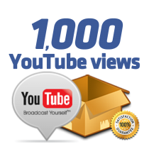 1.000 Youtube Views