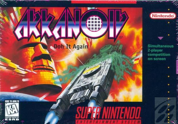 Arkanoid - Doh it Again (U)