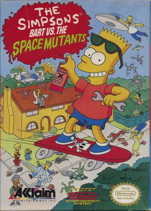 Simpsons, The - Bart Vs. the Space Mutan