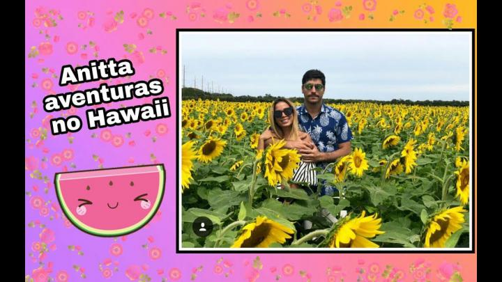 Anitta contando as suas aventuras no Hawaii - YouTube