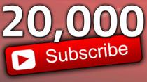 20.000 Youtube Subscribers