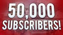50.000 Youtube Subscribers