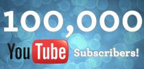 100.000 Youtube Subscribers