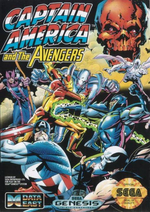 Captain America and the Avengers (E)