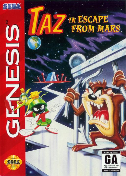 Escape From Mars Starring Taz (UE)