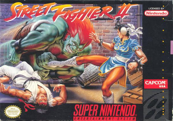 Street Fighter II - The World Warrior (U
