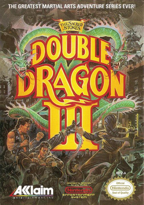 Double Dragon III - The Sacred Stones (U